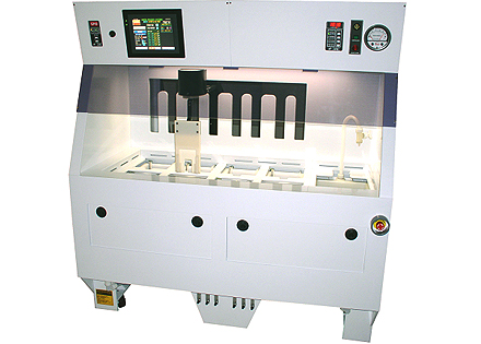 semi-automated semiconductor wet bench three